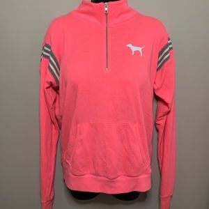VS PINK Limited Edition 3/4 Zip Sweater